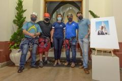 Alpinistas-do-CET-secretaria-de-Cultura-Cleo-Jordao-e-os-servidores-municipais-Henrique-Silva-e-Rafael-Correa