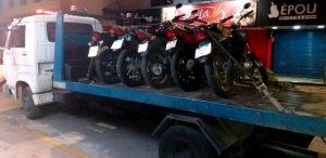 Operação conjunta de trânsito fiscalizou 70 motos e 15 carros no fim de semana em Teresópolis RJ