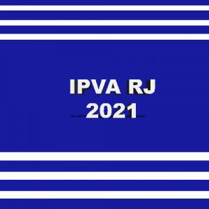 Guia de pagamento do IPVA RJ ano 2021