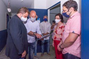Prefeito Vinicius Claussen e Sec. Vinicus Oberg recebem Pres. da FAETEC, João Carilho, e equipe gestora da unidade Teresópolis e garante melhorias para a unidade