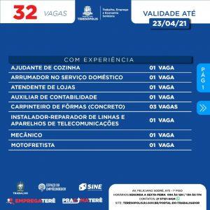 Programa 'Emprega Terê' divulga 32 vagas de emprego no Sine Teresópolis