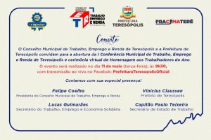 Teresópolis realiza 1ª Conferência de Trabalho, Emprego e Renda