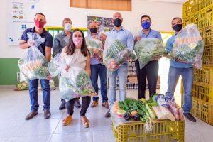 Prefeitura de Teresópolis, Emater-Rio e Fundação Banco do Brasil distribuem 1.100 Cestas da Agricultura Familiar para pessoas em vulnerabilidade social