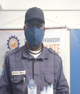 Policial militar Rogério Honorato Couto, homenageado na categoria Segurança