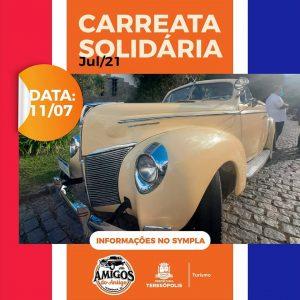 Clube Amigos do Antigo realizam a 2ª Carreata Solidária neste domingo