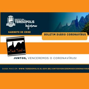 Boletim do Coronavírus em Teresópolis