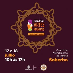 Dia 17 e 18 tem feira de artesanato em Teresópolis