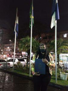 agente comunitária de saúde Gelma Figueiredo Rodrigues
