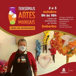 Feira de Artes Manuais em Teresópolis