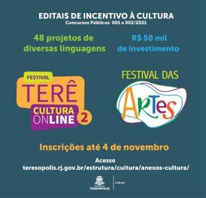 Editais de Incentivo à Cultura em Teresópolis